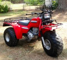 My all original 1986 Honda Big Red ATC250ES still runs today like a new bike.
