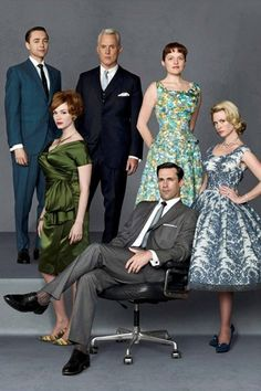 Mad Men - 1950's  All For Mary ~ Redefining the salon experience ~ www.allformary.com