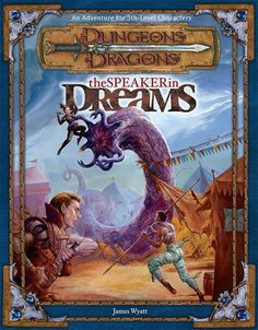 The Speaker in Dreams (3e) - Dungeons & Dragons | Dungeons and Dragons | D&D | DND | 3.5 | 3.0 | 3.x | Cover Art