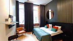 Folks Hotel Konepaja - loft room Loft Room, 5 Star Hotels, Curtains, Home Decor, Blinds, Decoration Home, Room Decor, Draping, Home Interior Design