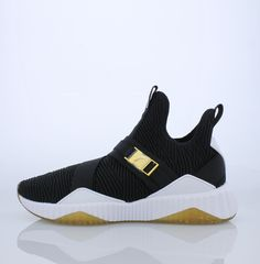 75acfe4c3a With a form-fitting textile upper, sleek monochromatic lines, a sparkly  outsole and