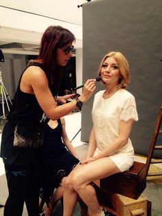 #backstage #photosession #edytaolszówka #star #bielenda #cosmetics #makeup #schoolofmakeup