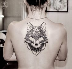 Fox Back Tattoo http://tattooideas247.com/fox-back/