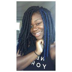 Bob Life  Hair: 2 Packs - Bobbi Boss Bomba Faux Locs 3 Pcs in #1B & Bobbi Boss Bomba Faux Locs in D.Blue  Hair from: @beauty_depot  Hair Stylist ✂️: @ladykesh87  Studio: Beautiful Brands Studio, Stone Mountain, GA  #dreads #locs #fauxlocs #dreadlocs #bob #boblife #dreadedbob #atlstylist #atlanta #anthonycuts #kekepalmer #meagangood #goddesslocs #melanin #blackhair