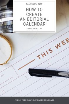 How to create an editorial calendar How To Treat Acne, Free Blog, Blog Tips, Calendar, Editorial, Messages, 3d Printing, Posts, Blogging