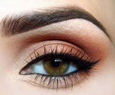Wedding Eye Makeup for Brown Eyes