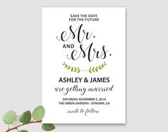 Save The Date Template Thing Just Got Real Bride Save The Date