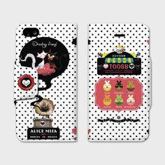 ★【ALICE MISA心夢少女】fandora shop商品 訂購處>>http://shop.fandora.tw/sale/38213  iPhone 5/5S/5C 皮套 / 【兔司比ToosB甜甜圈】  最近被點點中毒風..........................