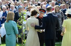 The Duke and Duchess attend the garden party at Hillsborough Castle