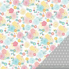 Lovable Lily 12X12 My Girl Paper  by American Crafts