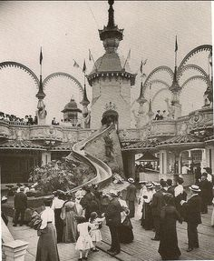 Coney Island, NYC - circa 1900