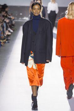 Liya Kebede for Dries Van Noten -   Fall/Winter 2017 - Paris Fashion Week.