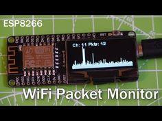 Tripple ESP8266 Display Module using my OLEDiUNO PCB - YouTube