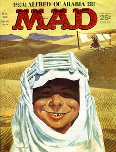 Never missed an issue of MAD either.