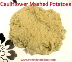 Cauliflower Mashed Potatoes - an easy #paleo recipe!