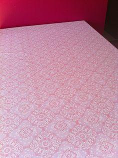 Toalha Mesa Bandana Rosa Claro 1,5x2m