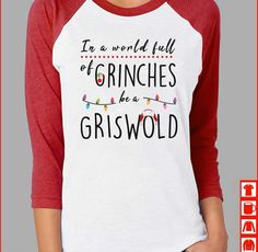 In a world full of Grinches be a Cindy Lou Who! - Holiday Shirts - Ideas of Holiday Shirts - In a world full of Grinches be a Cindy Lou Who! Christmas Time Is Here, All Things Christmas, Christmas Humor, Winter Christmas, Merry Christmas, Christmas Ideas, Christmas Tshirts Ideas, Christmas 2019, Cute Christmas Sayings