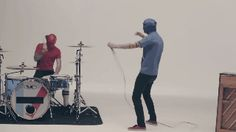 Sometimes they wrap duct tape around their heads. | Community Post: 21 Reasons Twenty One Pilots Are My New Favourite Band (And Should Be Yours)