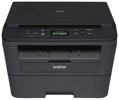 Brother Laser Multifunction PrinterPrint and copy with ease using the Brother printer. This monochrome laser multi-function machine Multifunction Printer, Canada, Laser Printer, Computer Technology, Cool Things To Buy, Stuff To Buy, Monochrome, All In One, Black And White