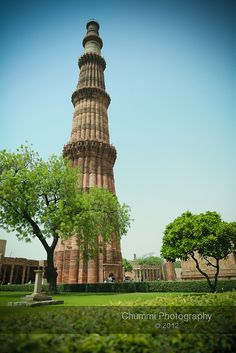 Qutb Minar, Delhi Qutub Minar, at 74 meters, is the second tallest minar in India after Fateh Burj in Chappar Chiri at Mohali, which measures 100 meters in height. Wikipedia Address: Mehrauli, New Delhi, Delhi 110030, India Height: 238' Closed: 1981 Architectural style: Indo-Islamic architecture