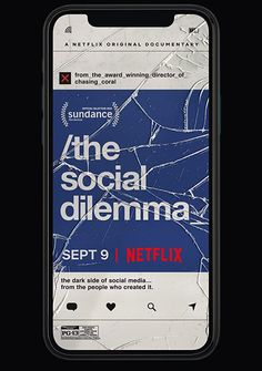 The Social Dilemma (2020) Explores the dangerous human impact of social networking, with tech experts sounding the alarm on their own creations.