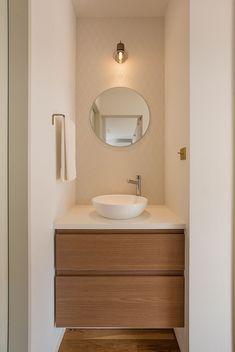 Washroom Design, Bathroom Design Small, Bathroom Interior Design, Home Decor Furniture, Bathroom Furniture, Toilette Design, Washbasin Design, Powder Room Decor, Bathroom Design Inspiration