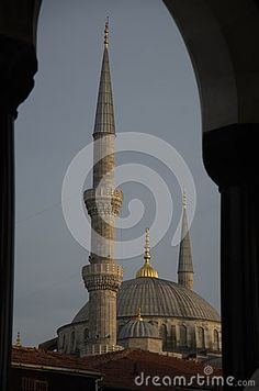 View of the Sultanahmet Camii,Blue Mosque, Istanbul, Turkey