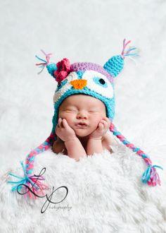 Custom+Size+Crochet+Owl+Hat+Girl+Sizes+Newborn5+by+cscinspirations,+$17.00