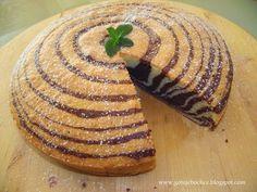 GotujeBoChce: Ciasto zebra