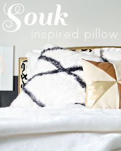 DIY Souk inspired pillow // brittanyMakes