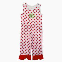 Laney Loops - Red Polka Dot Romper, $29.99 (http://www.laneyloops.com/red-polka-dot-romper/)