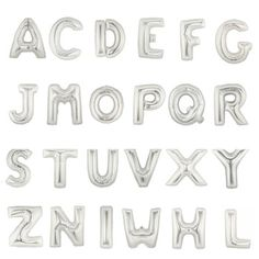 1pcs 16inch Letters letters A-Z foil balloons number 0-9 Balloons for happy birthday party balloons and party supplies