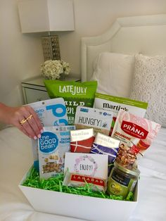Some lucky speakers at canfitpro conference this weekend got lovely some lucky speakers at canfitpro conference this weekend got lovely welcome gifts in their hotel rooms gift bags and baskets filled with canadian negle Choice Image