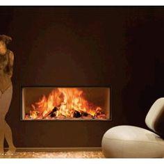 De Kal-fire Heat Pure 110, een #sfeerhaard die gezien mag worden. Kal-fire biedt u een unieke #houthaard die werkelijk bol staat van solide en geavanceerde techniek, maar die vooral ook erg mooi is. Kijk naar het kaderloos glas, zie hoe de techniek is weggewerkt. De Heat Pure is fraai tot in het kleinste detail. #Fireplace #Fireplaces #Kampen #Houtkachel #Interieur