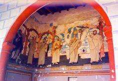 Pinturas murales en conventos del Estado de México
