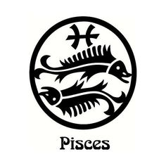 vinyl wall decal quote Pisces Zodiac symbol and letters ($13) ❤ liked on Polyvore featuring home, home decor, zodiac signs, astrology signs and vinyl home decor