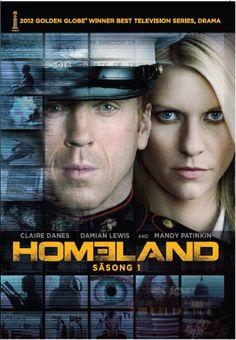 Homeland - Säsong 1 (4 disc) (DVD)