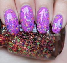 China Glaze Point Me to the Party Swatches & Review! (Layered Over KBShimmer Sarong Place, Sarong Time)