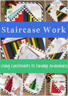 Cuisenaire Rods Staircases
