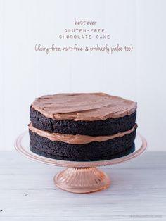 Best Ever Gluten-Free Chocolate Cake