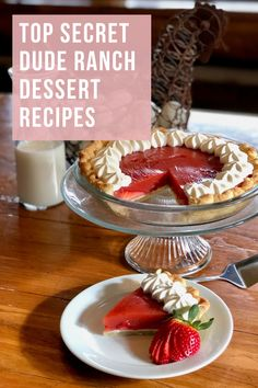 Do you dream about a dessert you had at one of our dude ranches? Here are some top-secret dude ranch dessert recipes that will satisfy any sweet tooth! Fun Desserts, Dessert Recipes, Dude Ranch Vacations, Hobo Dinners, Potato Chip Cookies, Boston Cream Pie, Summit County, Campfire Food, Strawberry Pie