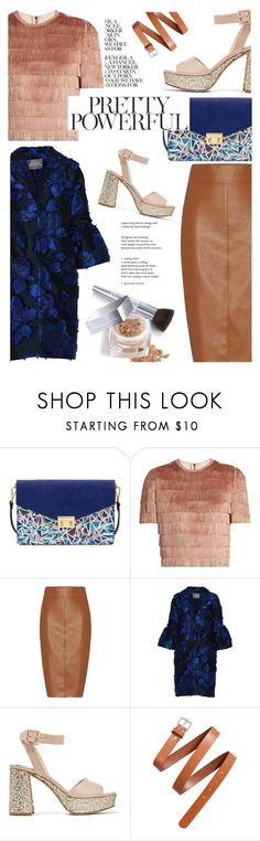 """""""Pretty Powerful"""" by cocochanel10 ❤ liked on Polyvore featuring Mellow World, Raey, Bailey 44, Lela Rose, Miu Miu, H&M and Christian Dior"""