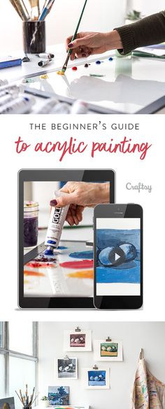 Learn the basic techniques behind beautiful paintings!