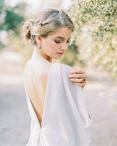 Chic open back wedding dress | Kseniya Bunets