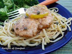 Forkful of Comfort: Chicken Piccata