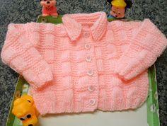 Mais um modelo de blusinha para tamanho 2/3 aninhos, fiz com a lã Família da Pingouin (cor 301). Seguiu para Tijucas/SC