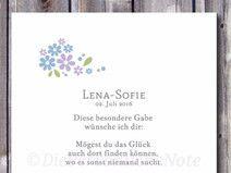 Druck/Print: Segenswunsch - Mögest du Glück finden