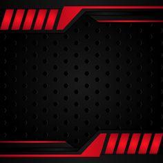 Modern Black And Red Metallic Background Modern black and red metallic backgrou. Modern Black And Red Metallic Background Modern black and red metallic background Red Carpet Background, Banner Background Images, Metal Background, Background Templates, Lights Background, Vector Background, Cool Backgrounds, Abstract Backgrounds, Silhouette Sport