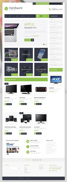 Шаблон TM51871 Тип: Shopify Themes $139