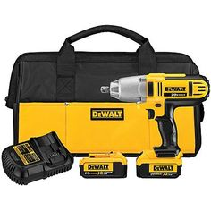DeWalt 20 V MAX* Lithium Ion 1/2 In. Impact Wrench
